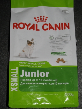 ROYAL CANIN X-Small Junior 0.5кг