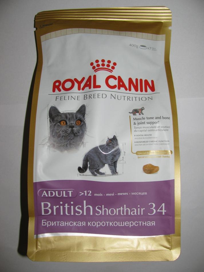 Корм royal canin british shorthair 10 кг